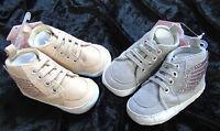 Babyschuhe Schuhe Turnschuhe Engelsflügel 0- 6, 6- 12 Mon. 14 15 16 Gold Silber