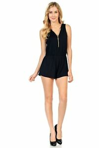 Style-C84-Sleeveless-Sexy-Short-Romper-Jumpsuit-with-Zipper