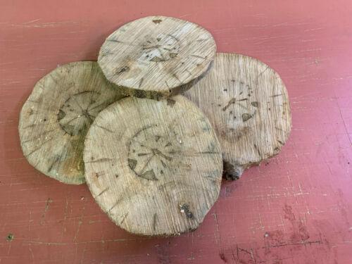 disco de árbol 25x2cm sin corteza montaña Arce aprox 4 discos de árbol