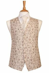 Gilet da Gold Jeff Dress di Antique regalo Natale Avorio Ideale Banks sposa wXBqf0H