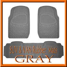 Husky 51221 2pc Heavy Duty Black Front Floor Mats for Dodge Ram 15//25//3500 03-12