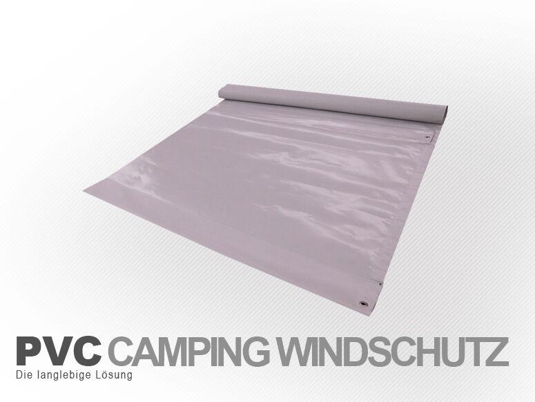 Windschutz aus PVC   Länge nach Wunsch     langlebig & wetterfest 7a1402