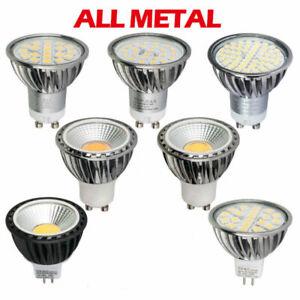LAMPADINE-LED-Attacco-GU10-MR16-Lampada-Faretto-Spotlight-COB-Dimmerabile-CPR