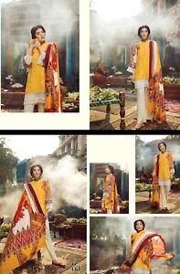 Unstitched pièces Costume Rajbari de Karandi par 3 AP5nqRwZ