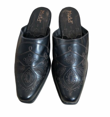 """Mudd Pointed toe /Cowboy boot 2 1/2"""" heel mules/cl"""