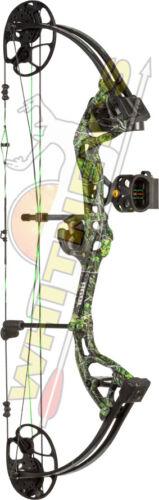 "Fred Bear Archery Cruzer LITE Compound Bow Moonshine Toxic LH Pkg 12/""-27/"" Draw"
