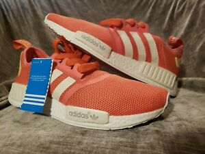 Details about Adidas NMD R1 Nomad Women's Vapour Pink S76006 Originals Rose Salmon Runner Rare