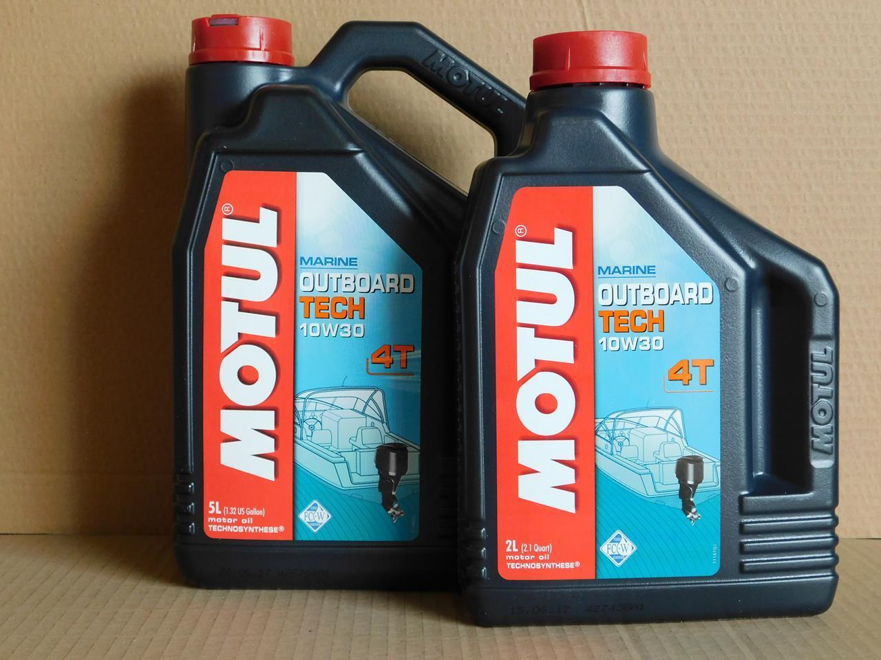 l Motul Outboard Tech 4T 10W-30 7 Ltr 4-Takt Außenbord Motorenöl