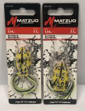 MATZUO Nano Kroaker Frog Dense Vegetation MTZ-CFN-M10 in LEOPARD FROG for BASS