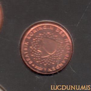 Pays Bas 2007 1 Centime d'euro FDC BU Pièce neuve du coffret BU 40000 Exemplaire