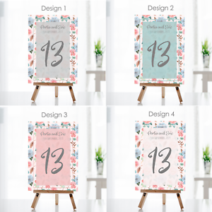 Personalised-Wedding-Table-Numbers-Floral-Theme-Party-Name-Cards-A5-A6-A7