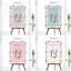 Personalised-Wedding-Table-Numbers-Floral-Theme-Party-Name-Cards-A5-A6-A7 thumbnail 1