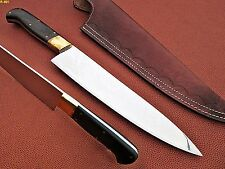 Custom Hand Made J2 Steel Chef Knife (Micarta Handle)