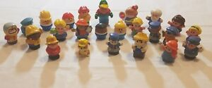 Lot-of-24-little-people-tikes-mattel-fisher-price-mega-blocks-shelcore-1997-2003