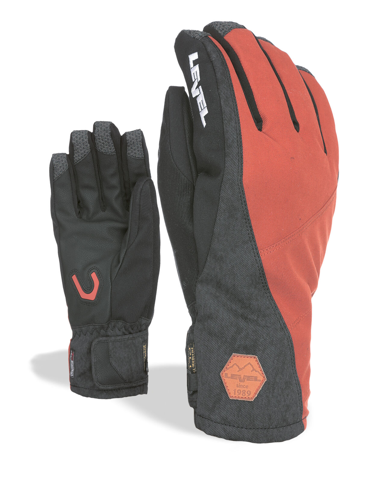 Level Guantes Matrix Duo brown Impermeable Transpirable Cálidos