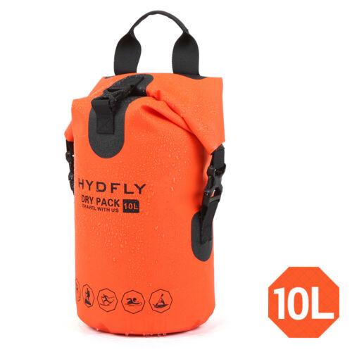 Outdoor Waterproof Dry Bag River Trekking Floating Roll-top Backpack W4L5