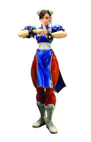 Square Enix Street Fighter IV  Jugar Arts Kai  Chun-Li Figura De Acción