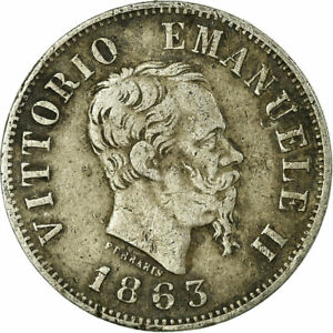 707113-Moneta-Italia-Vittorio-Emanuele-II-50-Centesimi-1863-Milan-BB