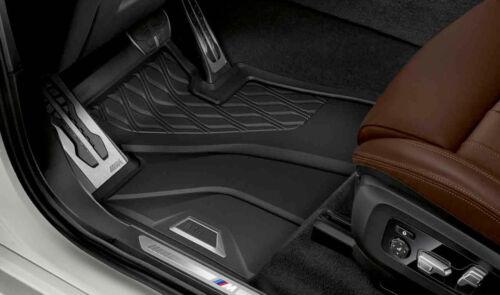 Original BMW X5 G05 Allwetter Fussmatten Set vorne Gummi LHD NEU 51472458551
