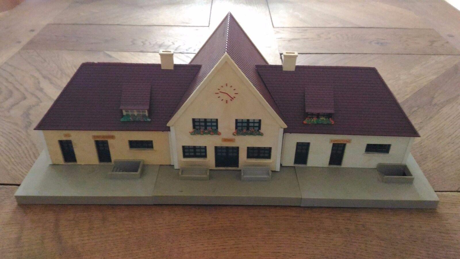 Förlaga för modellllerlering av Jouef -stationen som kan avlägsnas Ref 846 I bra skick