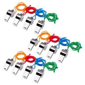 Schramm-12-Stueck-Trillerpfeife-Metall-Triller-Pfeife-Pfeifen-Fussballpfeife-Schi