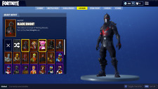 FORTNITE ACCOUNT - BLACK KNIGHT SKIN + 40,000 VBUCKS WORTH OF RARE ITEMS