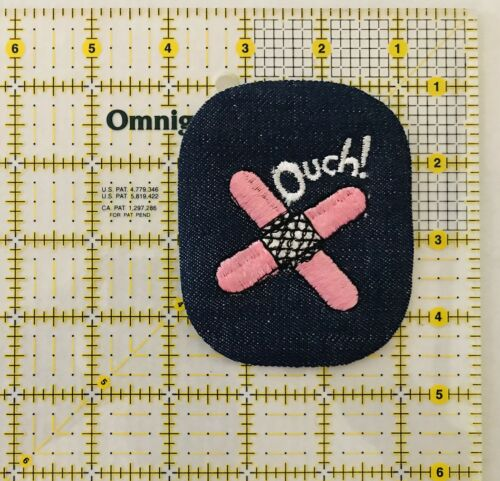 Band Aid Iron On Patch Unused Pink  Band Aid Vintage Ouch