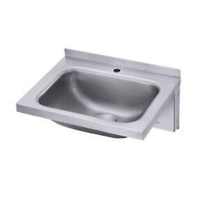 Handwaschbecken Waschbecken Edelstahl 18 10 Contacto Neu Wandmontage