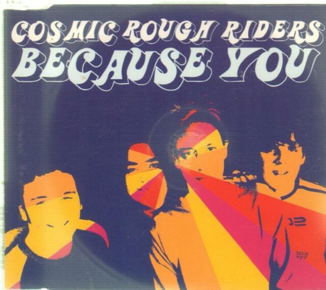 Cosmic Rough Riders(CD Single)Because You-New