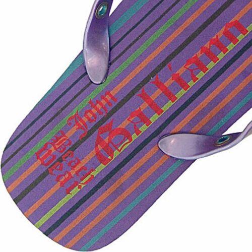 maxilogo flip flops John Galliano infradito maxilogo
