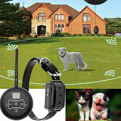 Wireless Electric 1 Pet Dog Electronic Fence Containment Systems