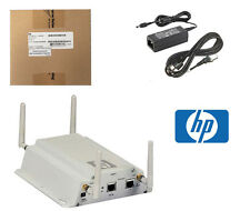 Nuevo Hp Procurve MSM325 Wireless Access Point Poe J9373B + Soporte & Adaptador de CA