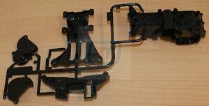 Tamiya 0005657/50698 TA03 A Parts (Gear Case) (Black Version) (TA03F/TA03R), NEW