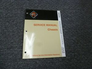 2005 International 3200 4200 4300 4400 Truck Electrical Wiring Diagrams Manual
