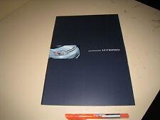 TOYOTA ALPHARD Hybrid Japanese Brochure 2003/07  ATH10W 2AZ-FXE 1EM 1FM Vellfire