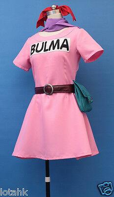 Bulma Ver 1  Cosplay Costume Custom Made