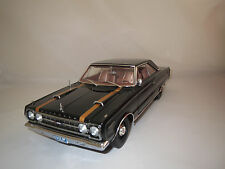 """Highway 61  Plymouth  GTX  Belvedere  """"1967""""  (schwarz) 1:18 ohne Verpackung !"""