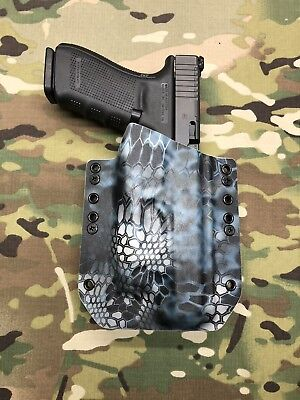 Multicam Kydex Light Bearing Holster for Glock 40 Streamlight TLR-1