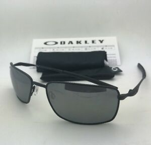 6a53feb7c5 Image is loading Polarized-OAKLEY-Sunglasses-SQUARE-WIRE-OO4075-05-Matte-
