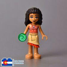 Lego Moana 41150 Tan Skirt Bright Pink Flower Disney Minifigure
