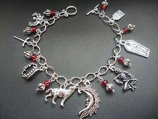 GOTHIC VAMPIRE Bracciale con Charm-Sanguine ROSE Designs