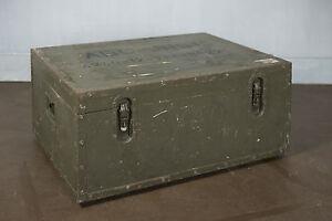 Armeekiste Militarkiste Couchtisch Truhe Vintage Holzkiste Deko