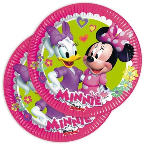 Minnie Souris Enfants Assiette 19,5 cm 8er Pck