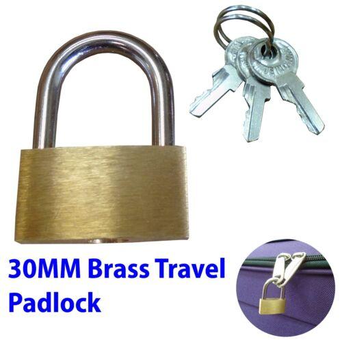 Brass voyage bagages valise cadenas serrure avec clés