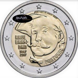 Piece-2-euros-commemorative-PORTUGAL-2017-Raul-Brandao-500-000-exemplaires