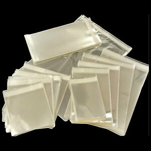 Clear-Square-cello-display-bags-Cellophane-Sac-pour-cartes-Sweet-Candy-amp-Cadeau