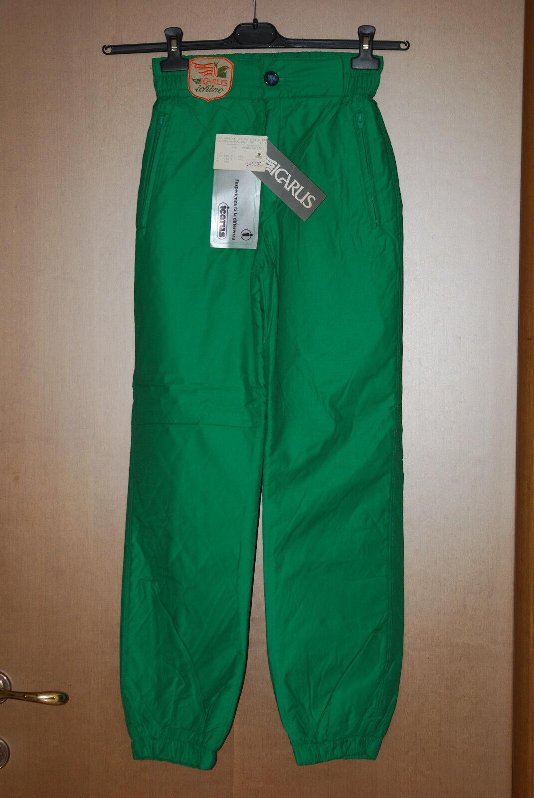 Pantalone ICARUS suit NEW   vintage thermo sport snowboard snow paninaro 40