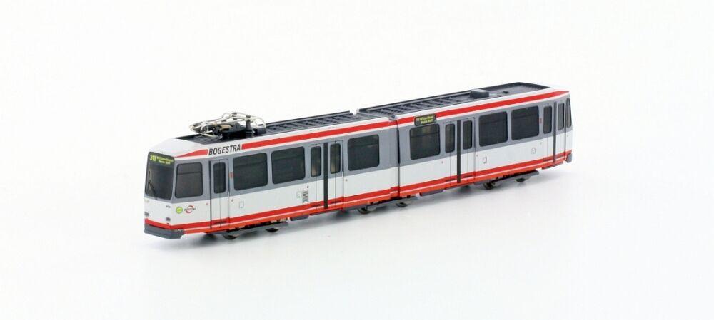 Hobbytrain Hobbytrain Hobbytrain h14901-tram tipo. m6  BoGeStra  Grigio Rosso Giallo Per Traccia N 21c994