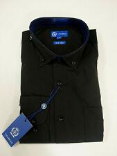 camisa negra de manga larga talla grande , camisas tallas especiales XL,...
