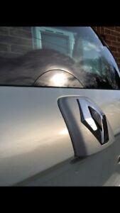 Renault clio  172 182 16V MK2 GLOSS BLACK  ACRYLIC REAR WIPER BLANK/DELETE